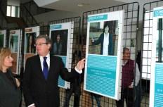 El rector ha inaugurado la exposición