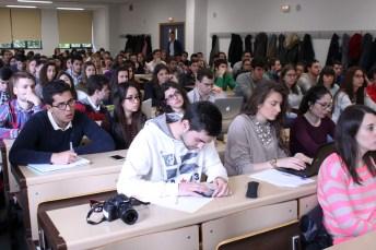 Alumnos asistentes a la Jornada