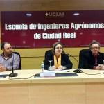 Desde la izquierda, Carlos Alba, Rocío Gómez y Alberto Lillo