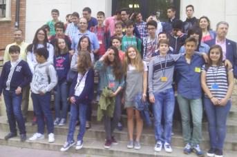 Participantes en la fase regional de la Olimpiada Matemática