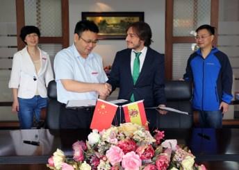 Convenio con el Jiangxi College of Foreing Studies