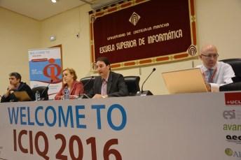 Inauguración de la 21ª Conferencia Internacional sobre la Calidad de la Información