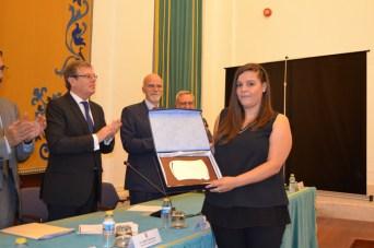 Gema María Durán, I Premio de Ciencia Joven del X Simposio de Ciencia Joven de la Facultad de Ciencias y Tecnologías Químicas