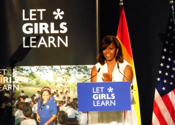 Intervención de Michelle Obama