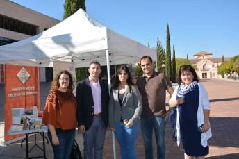 Sara Susana Martínez, Crescencio Bravo, Esther López, Isidro Peña y Nohemí Gómez-Pimpollo