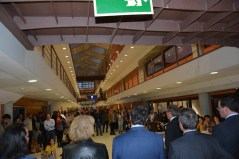 Un buen número de asistentes acudieron a la inauguración