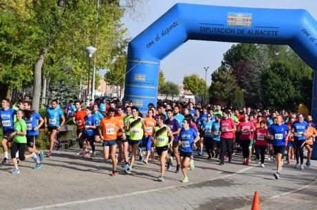 La carrera partió de la plaza de la Universidad en Albacete