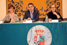 De izqd. a dcha: Raquel Torres, Tomás López y Pilar Gil