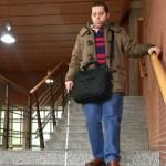 francisco-Francisco Corralejo baja unas escaleras