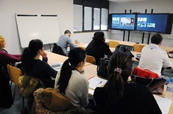 Desarrollo de la actividad en el Campus de Cuenca