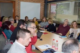 El seminario se ha celebrado en la sala de juntas de la Facultad de Relaciones Laborales y Recursos Humanos de Albacete