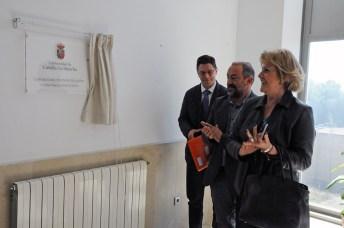 El decano del centro y los vicerrectores de la UCLM inauguran el nuevo espacio de la Facultad
