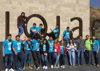 Participantes en la final de Logroño