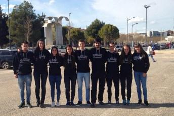 Representantes de la UCLM en este Campeonato Universitario