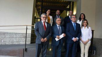 El acto ha estado presidido por el rector de la UCLM, Miguel Ángel Collado