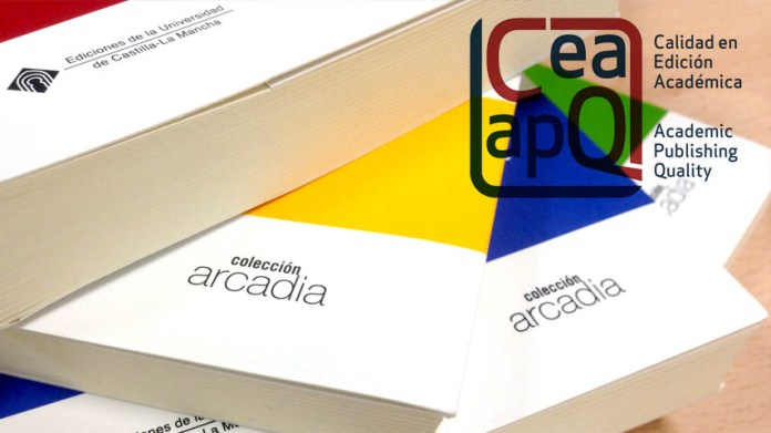 La colección Arcadia de la UCLM obtiene el sello de Calidad en Edición Académica