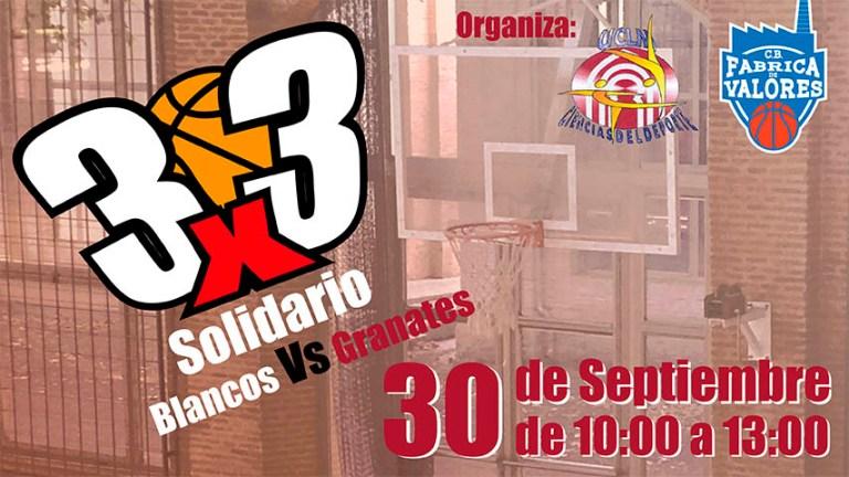 El Campus de Toledo acogerá el 30 de septiembre una competición de baloncesto 3×3 solidaria e inclusiva