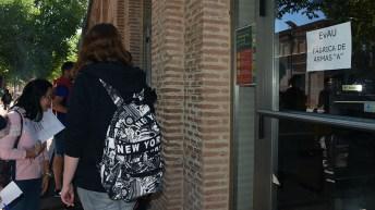 Comienza la EvAU en la UCLM (campus de Toledo)