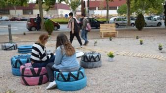 Proyecto de urbanismo táctico de la Escuela de Caminos
