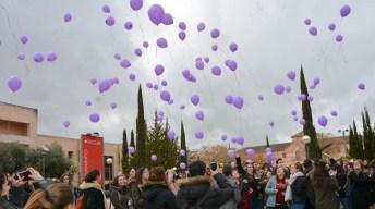Acto reivindicativo de los estudiantes de la UCLM en el Día Internacional de la Mujer (Ciudad Real)