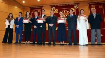 Graduación presidida por el rector de la UCLM
