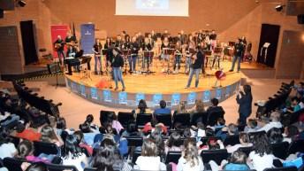 Celebración de uno de los conciertos