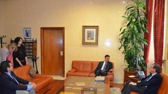 Reunión mantenida en el Rectorado de la UCLM