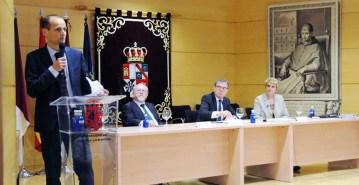 El homenaje al profesor Cerrillo se celebró en el Campus de Cuenca © Gabinete de Comunicación UCLM