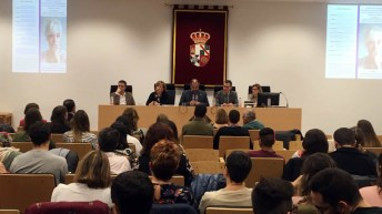 El acto se celebró en el salón de actos del edificio Melchor de Macanaz © Gabinete de Comunicación UCLM