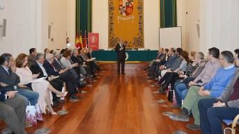 Encuentro con empresarios de la provincia. © Gabinete de Comunicación UCLM