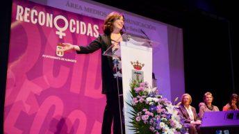 Carmen Muñoz Sevilla, galardonada en el área de Medios de Comunicación © Gabinete de Comunicación UCLM