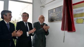 En el transcurso del acto se descubrió una placa conmemorativa del homenaje. © Gabinete de Comunicación UCLM