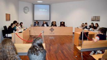 Participantes y representantes académicos © Gabinete de Comunicación UCLM