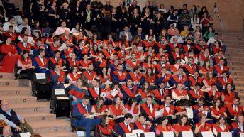Desarrollo del acto de graduación © Gabinete de Comunicación UCLM