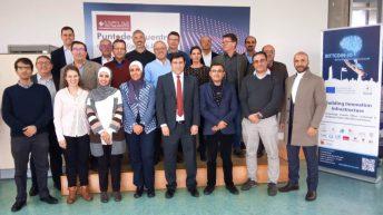Reunión de los miembros del consorcio © Gabinete de Comunicación UCLM