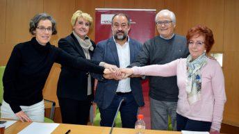 El acto de la firma se ha celebrado en la Escuela Internacional de Doctorado © Gabinete de Comunicación UCLM
