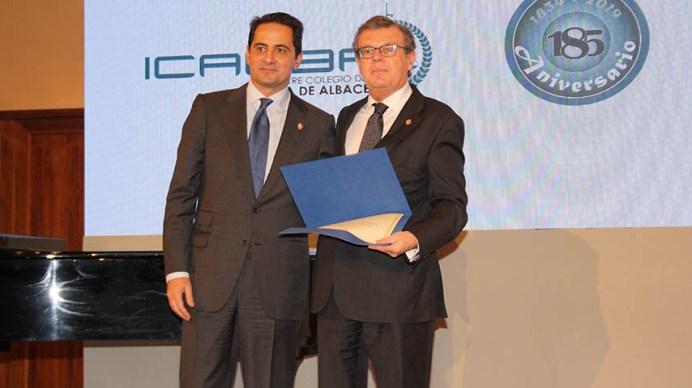 La UCLM, distinguida por el Colegio de la Abogacía de Albacete