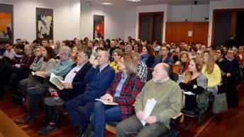 Las ponencias tuvieron lugar en el salón de actos del edificio Melchor de Macanaz con un aforo completo © Gabinete de Comunicación UCLM