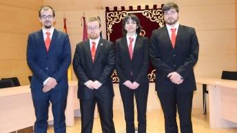 Ganadores de la fase local de la XII Liga de Debate Universitario de la UCLM (La Guardia, Cuenca)