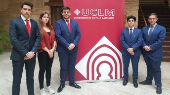 Ganadores de la fase local de la XII Liga de Debate Universitario de la UCLM (Novam fides et ratio 2.0, Toledo)