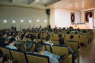Inauguración de las VI Jornadas de seguridad informática MorterueloCon.