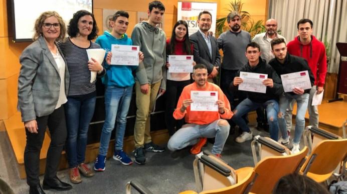 Ganadores © Gabinete de Comunicación UCLM