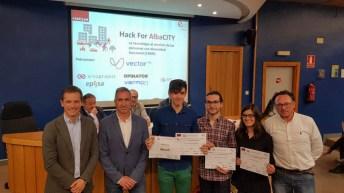 Ganadores del primer premio © Gabinete de Comunicación UCLM