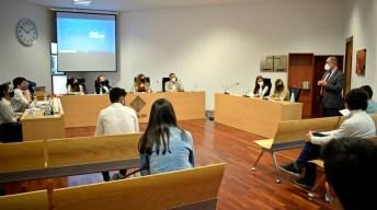 Celebración de la fase final del certamen © Gabinete de Comunicación UCLM