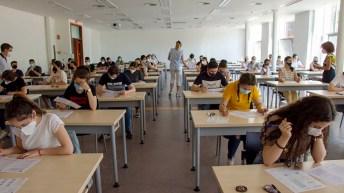 Arranca la EvAU extraordinaria 2021 en la UCLM (Toledo). © Gabinete de Comunicación UCLM