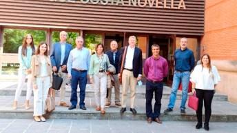 Miembros de la Fundación Domingo Martínez conocieron los avances del proyecto © Gabinete Comunicación UCLM