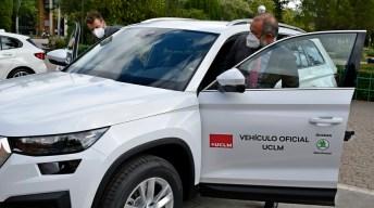 Acto de entrega de vehículos © Gabinete de Comunicación UCLM