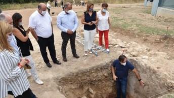 Alumnos de la UCLM realizan prácticas en distintos yacimientos arqueológicos de la región. © Gabinete de Comunicación UCLM
