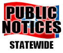 Click for Statewide Public Notices