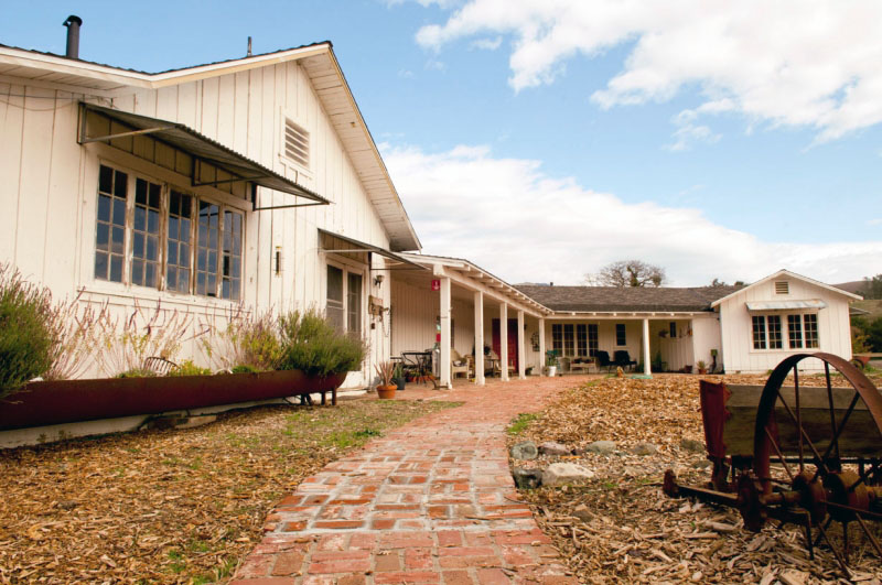 The 1950s Era Ranch House At Sedgwick Reserve Will Be Renovated And  Modernized For Efficiency